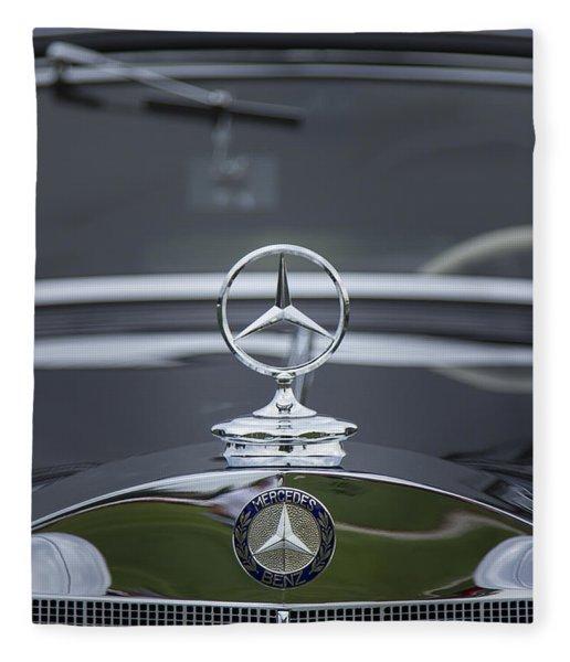 1937 Mercedes Benz Fleece Blanket