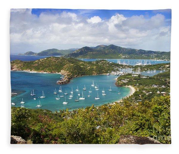 Fleece Blanket featuring the photograph Antigua by Brian Jannsen