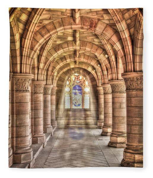 Kelso Abbey Fleece Blanket