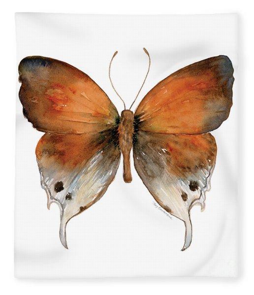 47 Mantoides Gama Butterfly Fleece Blanket