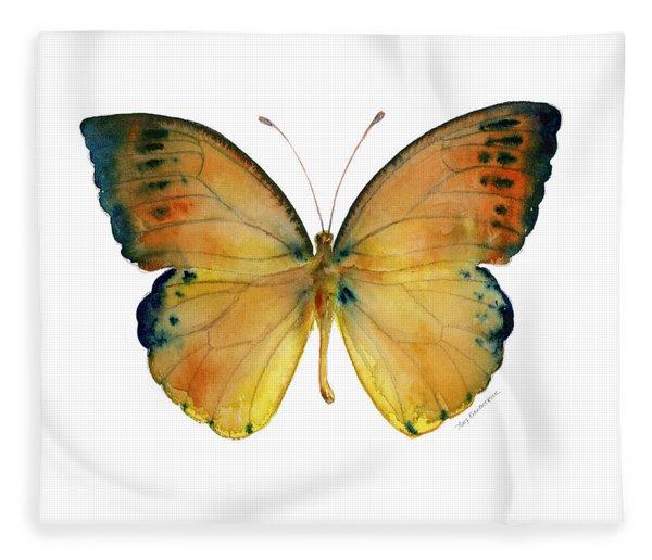 53 Leucippe Detanii Butterfly Fleece Blanket
