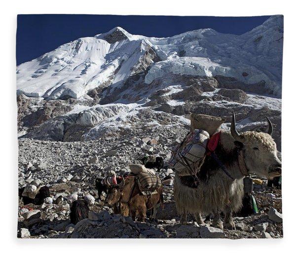 Khumbu Fleece Blanket