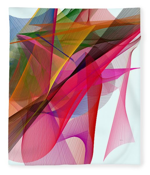 Color Symphony Fleece Blanket