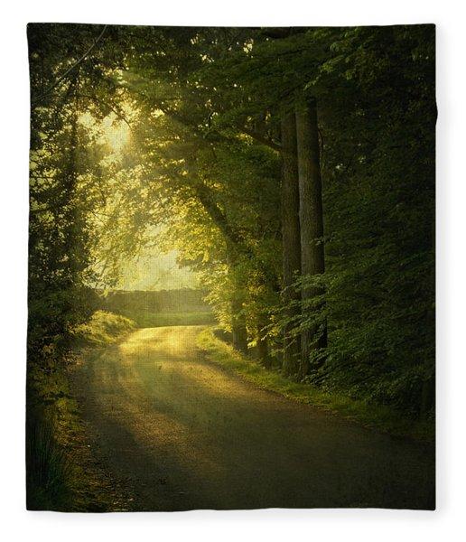 A Path To The Light Fleece Blanket