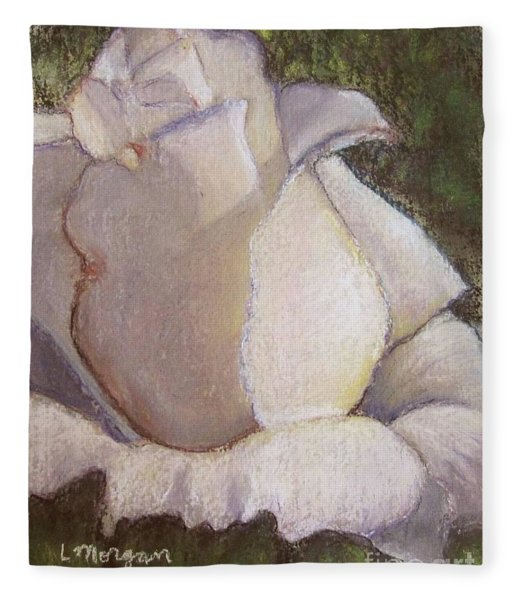 A Whiter Shade Of Pale Fleece Blanket
