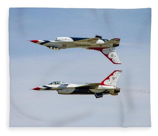 Air Force Thunderbirds Fleece Blanket