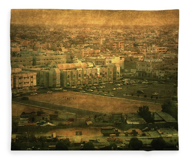 Al-khobar On Texture Fleece Blanket