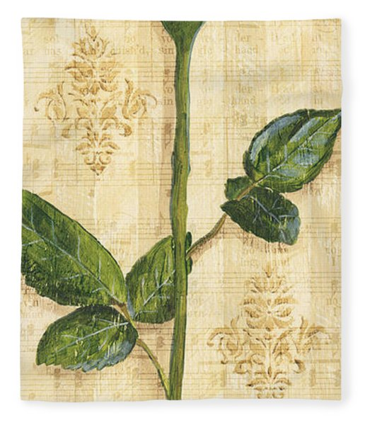 Allie's Rose Sonata 1 Fleece Blanket