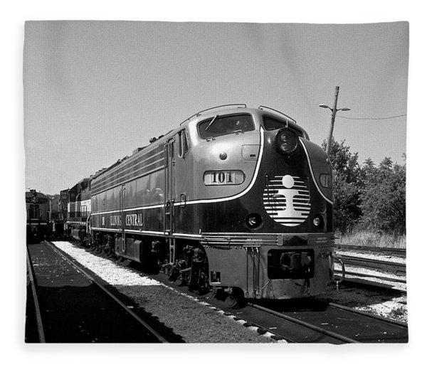 Amazing Trainyard Fleece Blanket