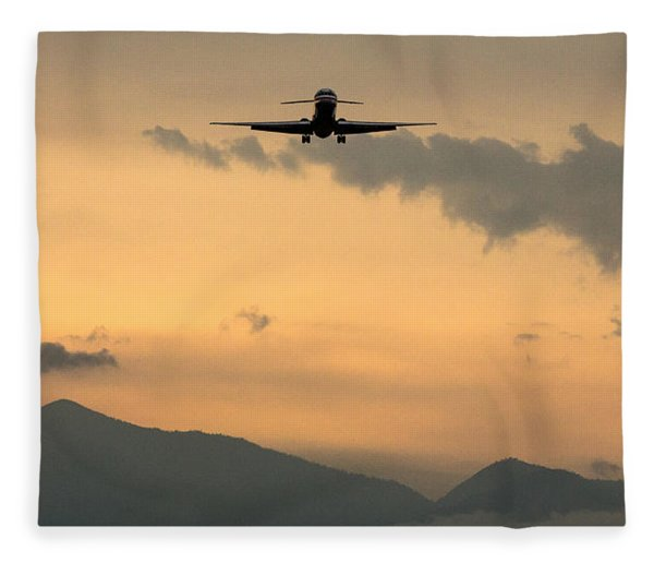 American Airlines Approach Fleece Blanket