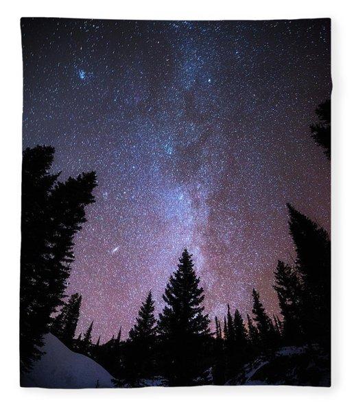 Andromeda Our Neighbor Fleece Blanket