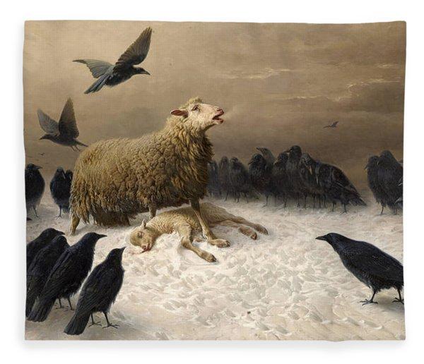 Anguish Fleece Blanket