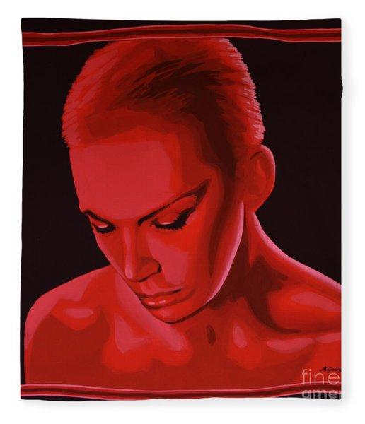 Annie Lennox Fleece Blanket