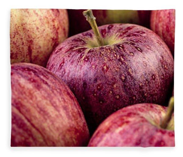 Apples 02 Fleece Blanket