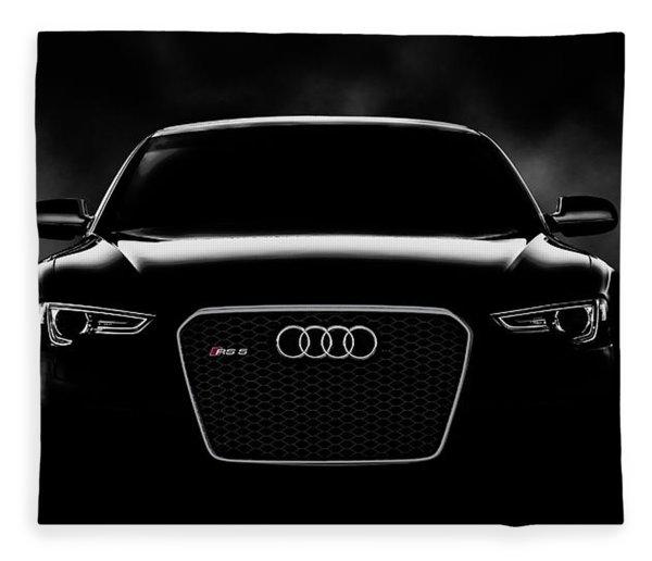 Audi Rs5 Fleece Blanket