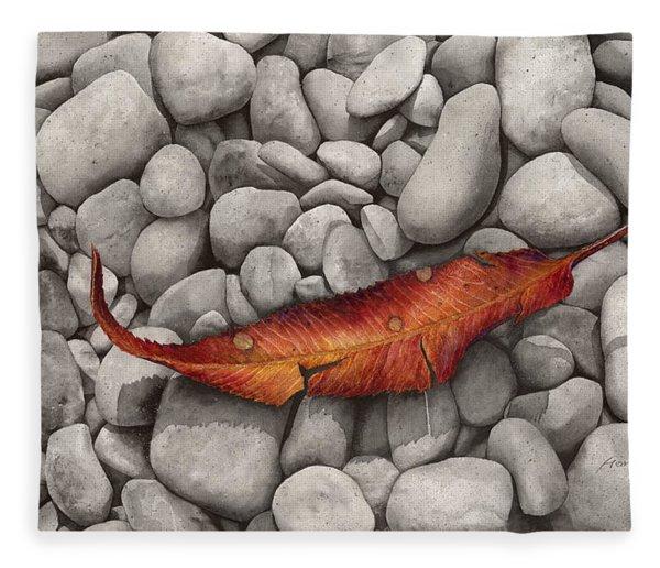 Autumn Epilogue Fleece Blanket
