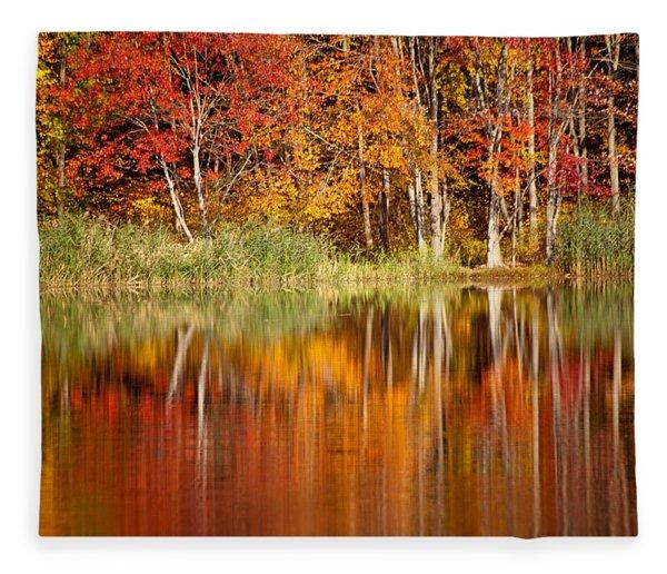 Autumns True Colors Fleece Blanket