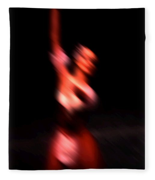 Ballet Blur 4 Fleece Blanket