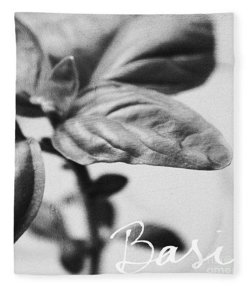 Basil Fleece Blanket