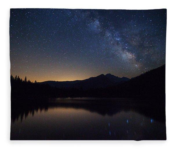 Bear Lake Milky Way Fleece Blanket