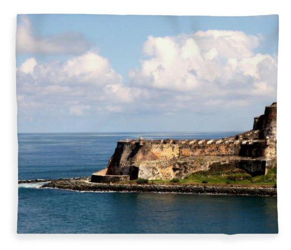 Beautiful El Morro Fleece Blanket