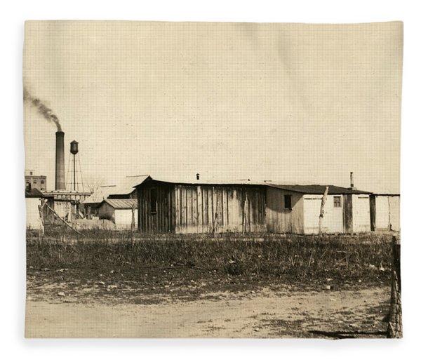 Beet Worker Housing, 1915 Fleece Blanket