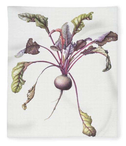 Beetroot Fleece Blanket