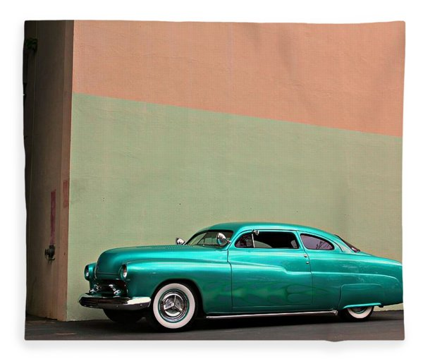 Big Green Merc Just Around The Corner Fleece Blanket