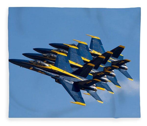Blue Angels Echelon Fleece Blanket