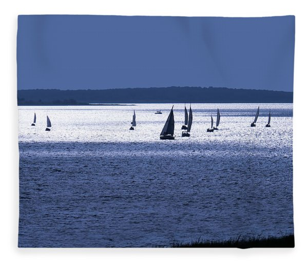 The Blue Armada Fleece Blanket