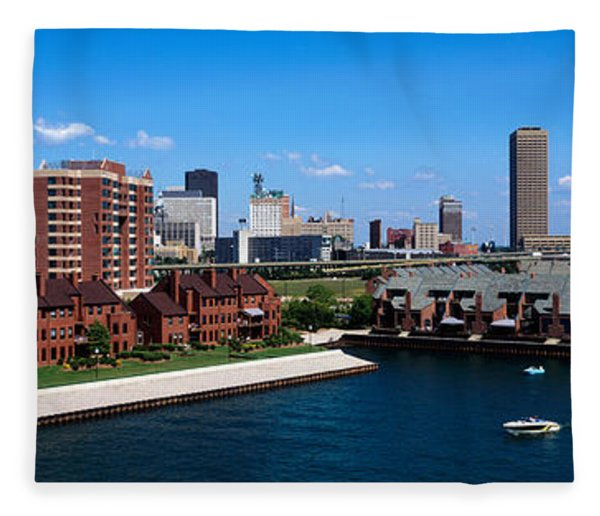 Buffalo Ny Fleece Blanket