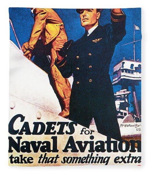 Cadets For Naval Aviation Take That Fleece Blanket