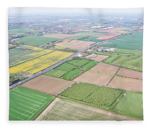 Cambridgeshire Fleece Blanket