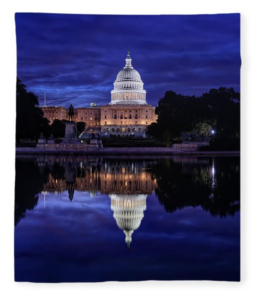 Capitol Morning Fleece Blanket