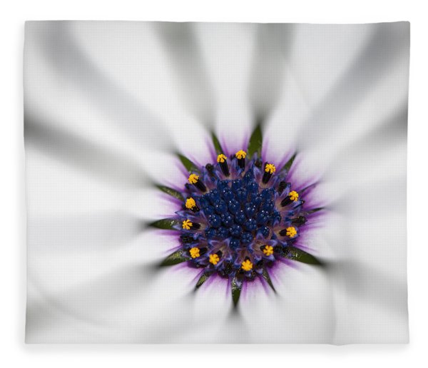 Fleece Blanket featuring the photograph Center Of Life by Carolyn Marshall
