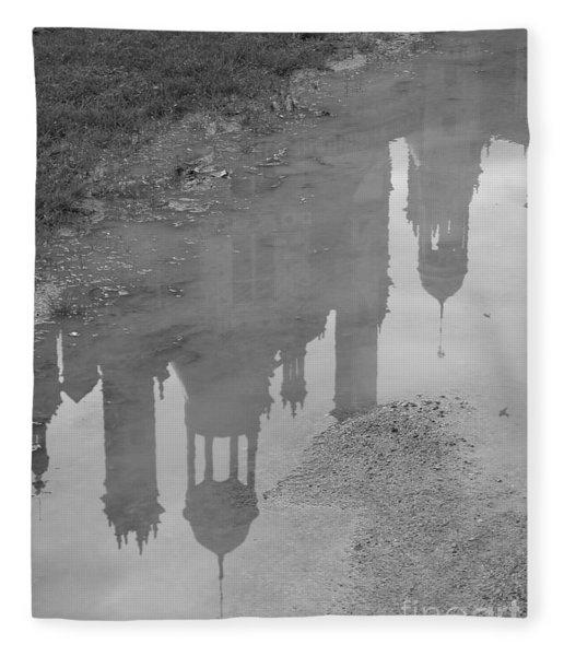 Chateau Chambord Reflection Fleece Blanket