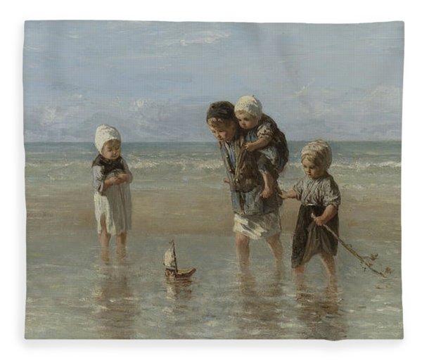 Children Of The Sea Fleece Blanket