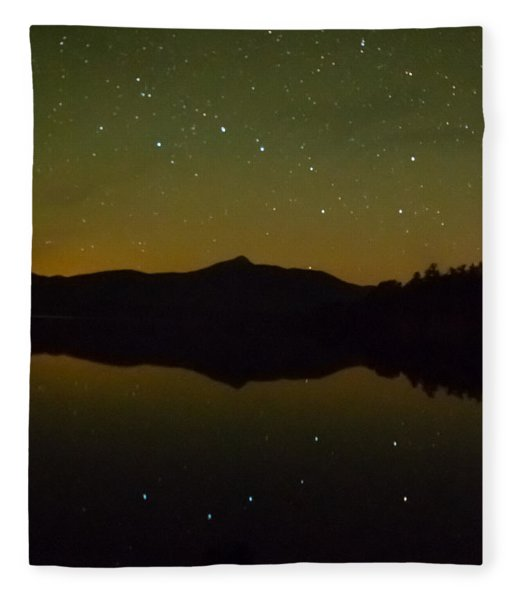 Chocorua Stars Fleece Blanket