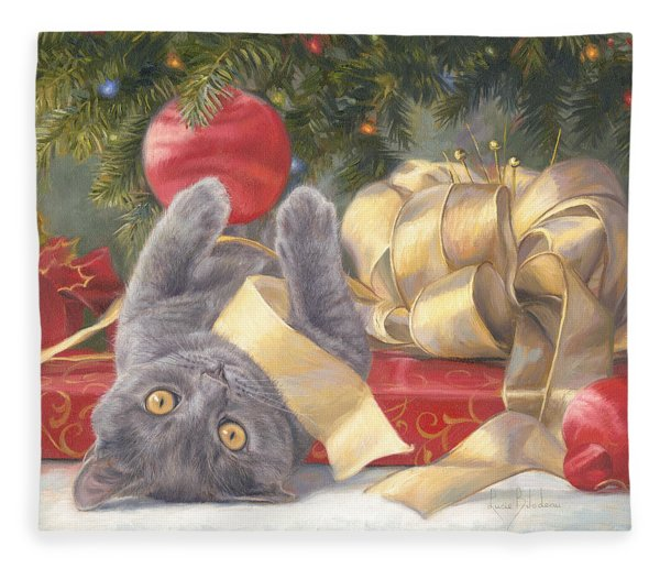 Christmas Surprise Fleece Blanket