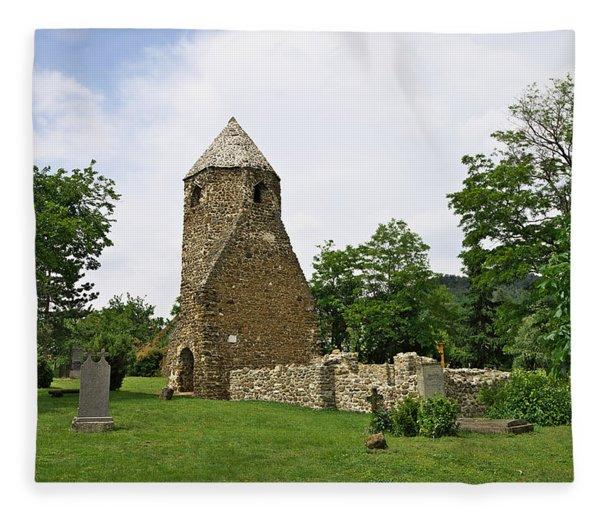 Church Of Avasi Rehely Fleece Blanket