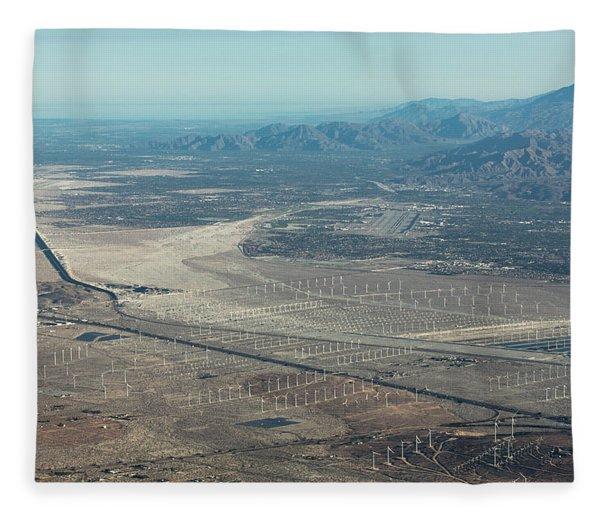 Coachella Valley Fleece Blanket