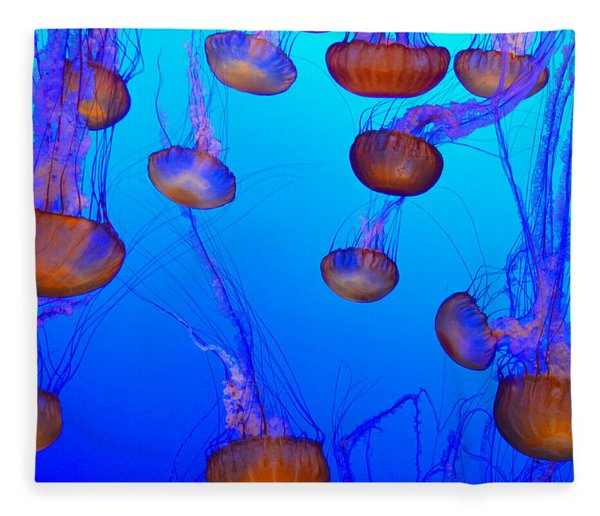 Dance Of The Jellyfish Fleece Blanket