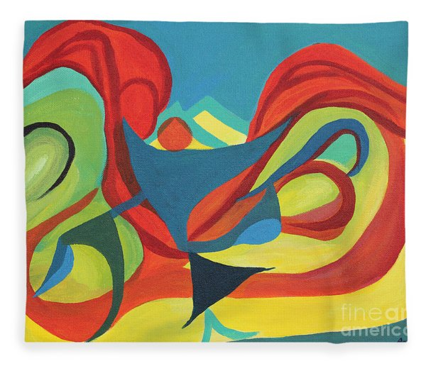 Dancing Child Fleece Blanket