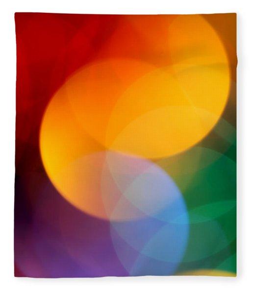 Deja Vu 2 Fleece Blanket
