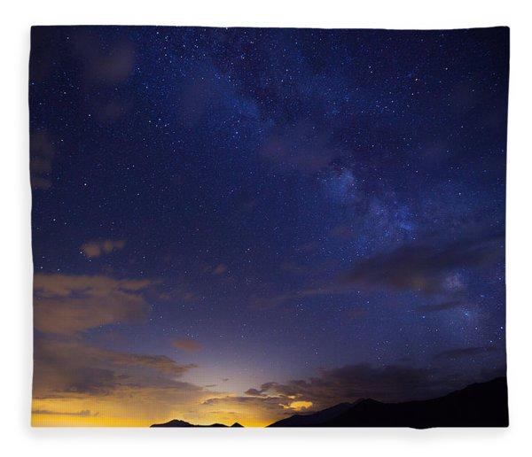Denver's Milky Way Fleece Blanket