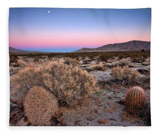 Desert Twilight Fleece Blanket