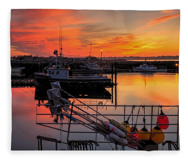 Fleece Blanket featuring the photograph Desired Haven  by Garvin Hunter