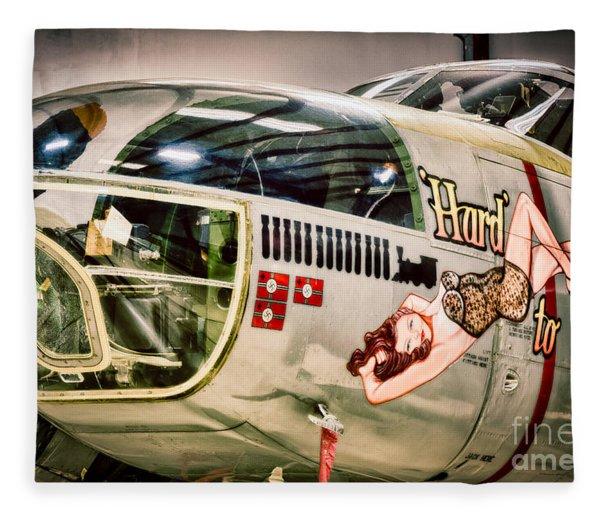 Douglas A-26c Invader Fleece Blanket