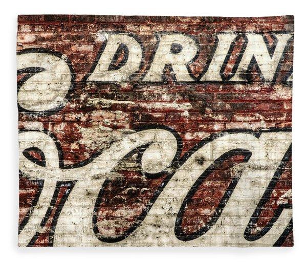 Drink Coca-cola 2 Fleece Blanket