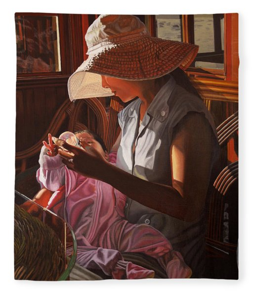Enfamil At Ha Long Bay Vietnam Fleece Blanket